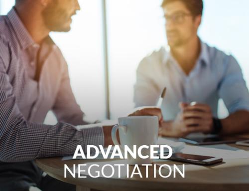 Advanced Negotiation